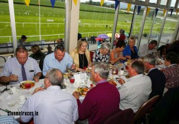 Dining at Clonmel Races